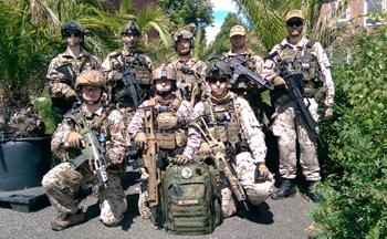 Vorbereitungen auf die OP Protector XI